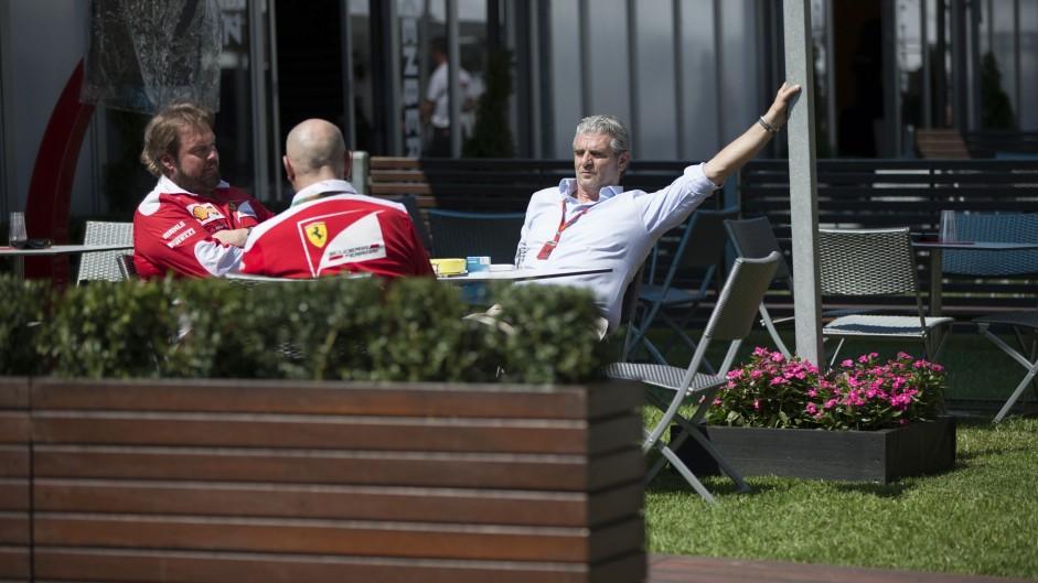 Maurizio Arrivabene, Ferrari, Albert Park, 2016