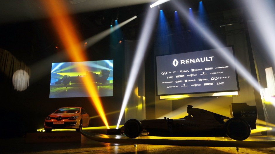 Renault RS16 livery launch, 2016
