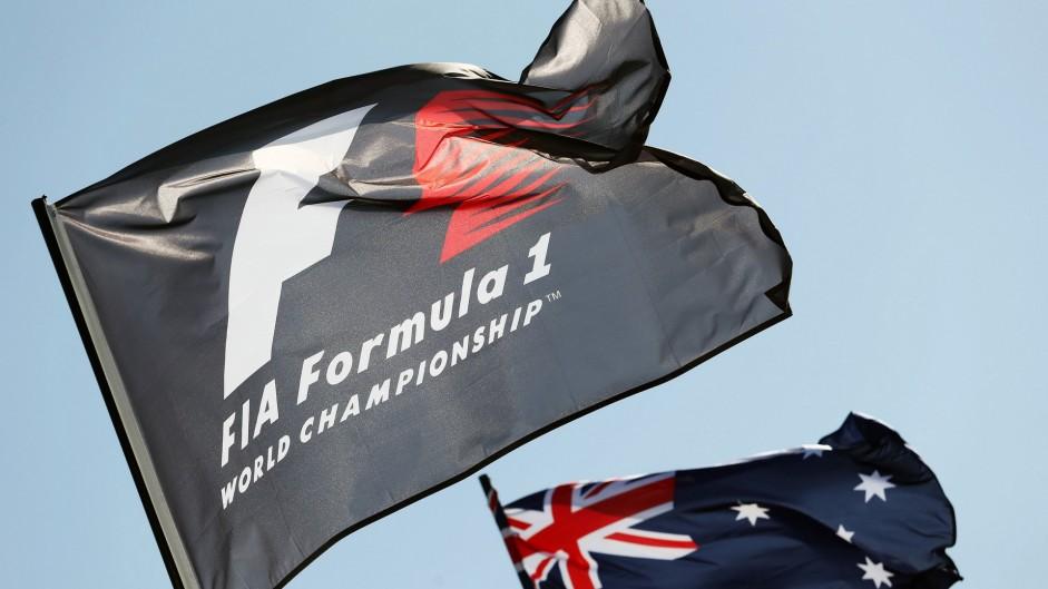 Flags, Albert Park, Melbourne, 2016
