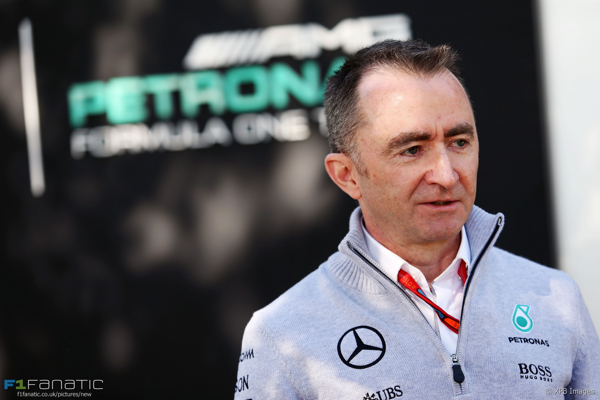 Paddy Lowe, Mercedes, Albert Park, Melbourne, 2016