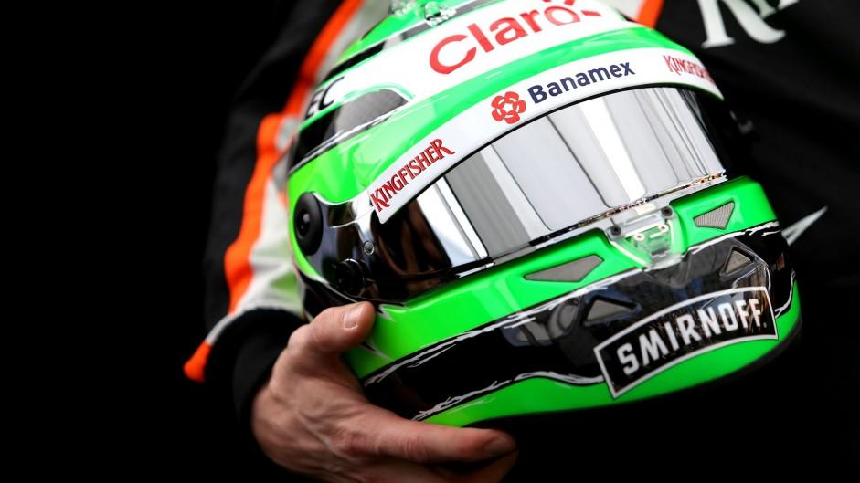 Nico Hulkenberg, Force India, Albert Park, 2016