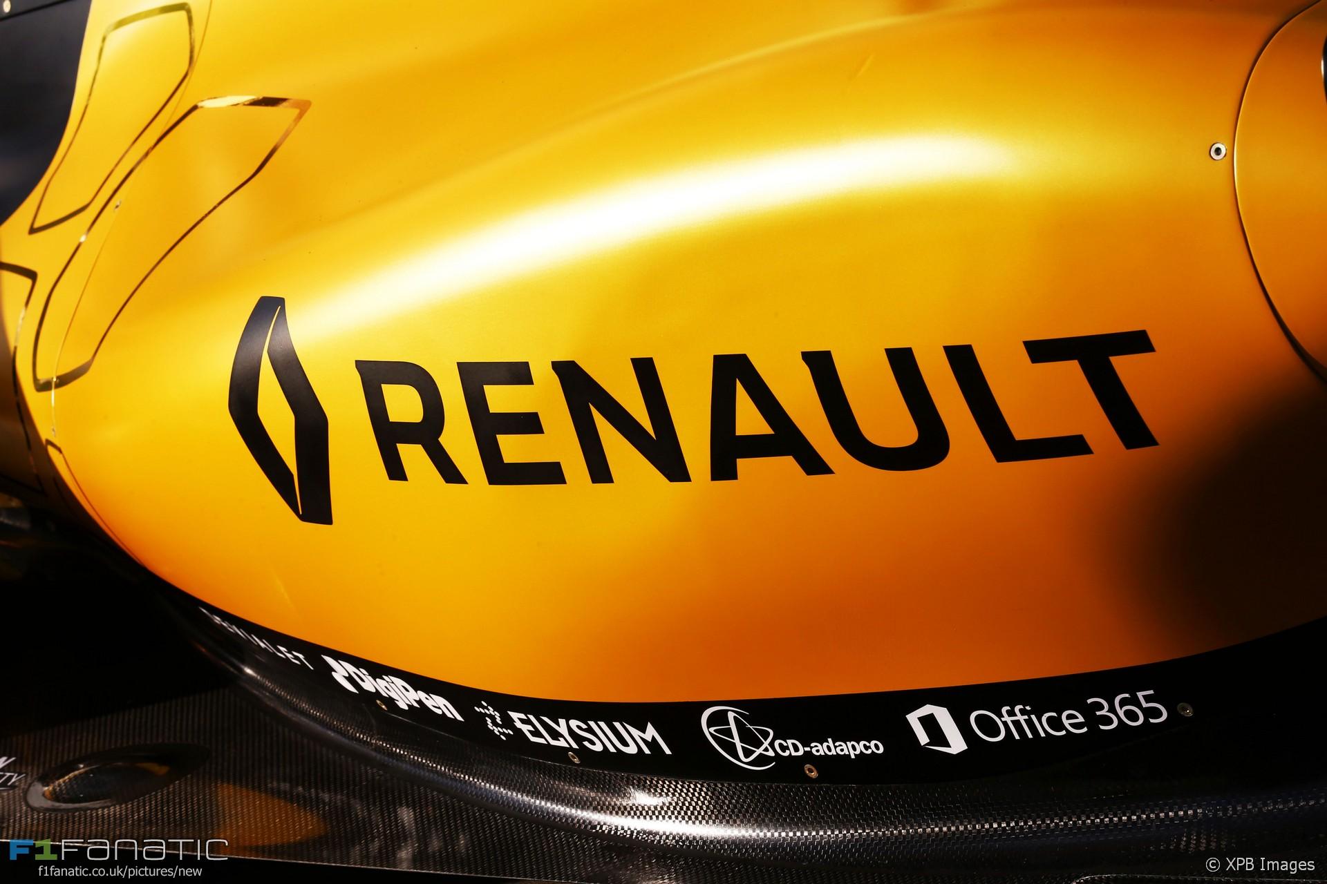 Renault, Albert Park, 2016