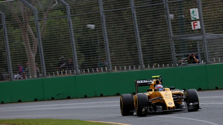 Jolyon Palmer, Renault, Albert Park, 2016