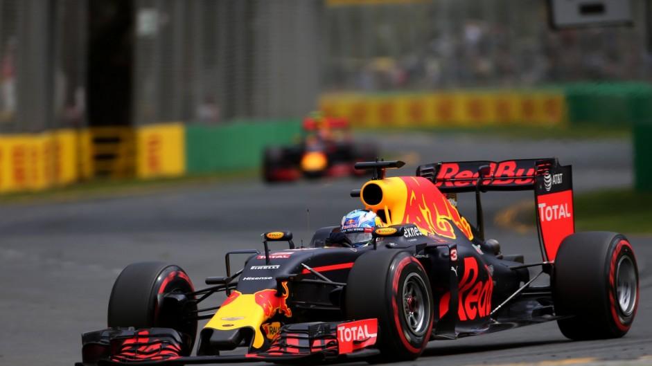 Daniel Ricciardo, Red Bull, Albert Park, 2016