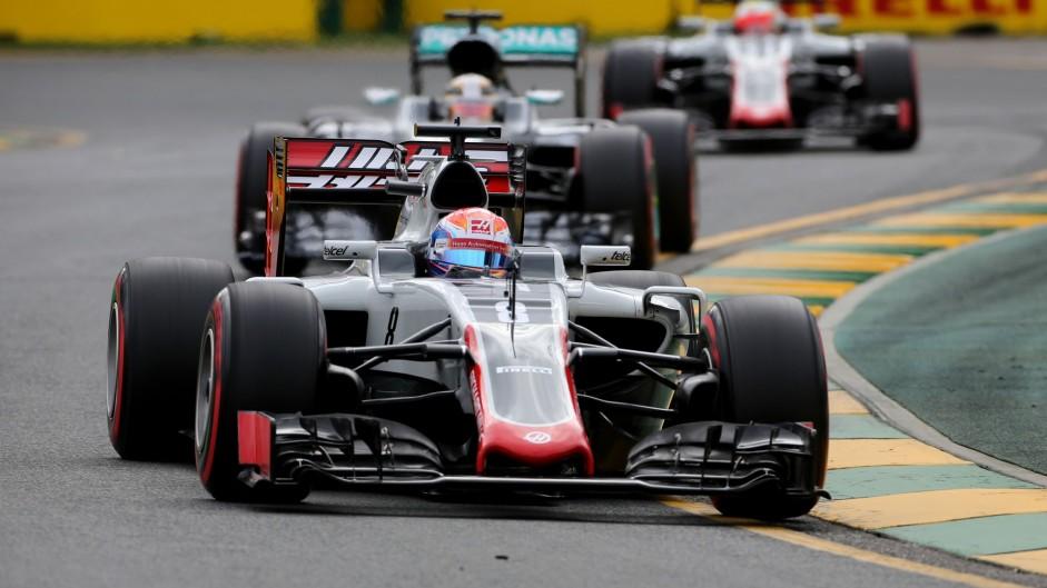 Romain Grosjean, Haas, Albert Park, 2016