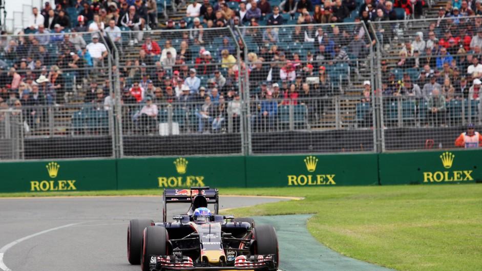 Max Verstappen, Toro Rosso, Albert Park, 2016