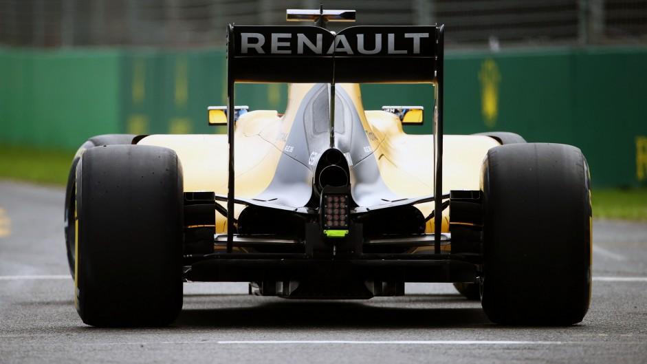 Kevin Magnussen, Renault, Albert Park, 2016