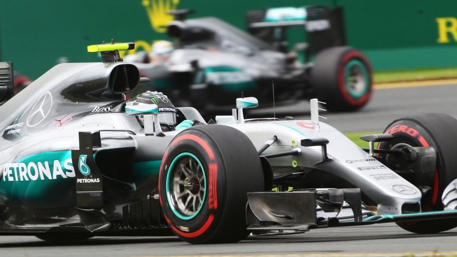 Nico Rosberg, Mercedes, Albert Park, 2016
