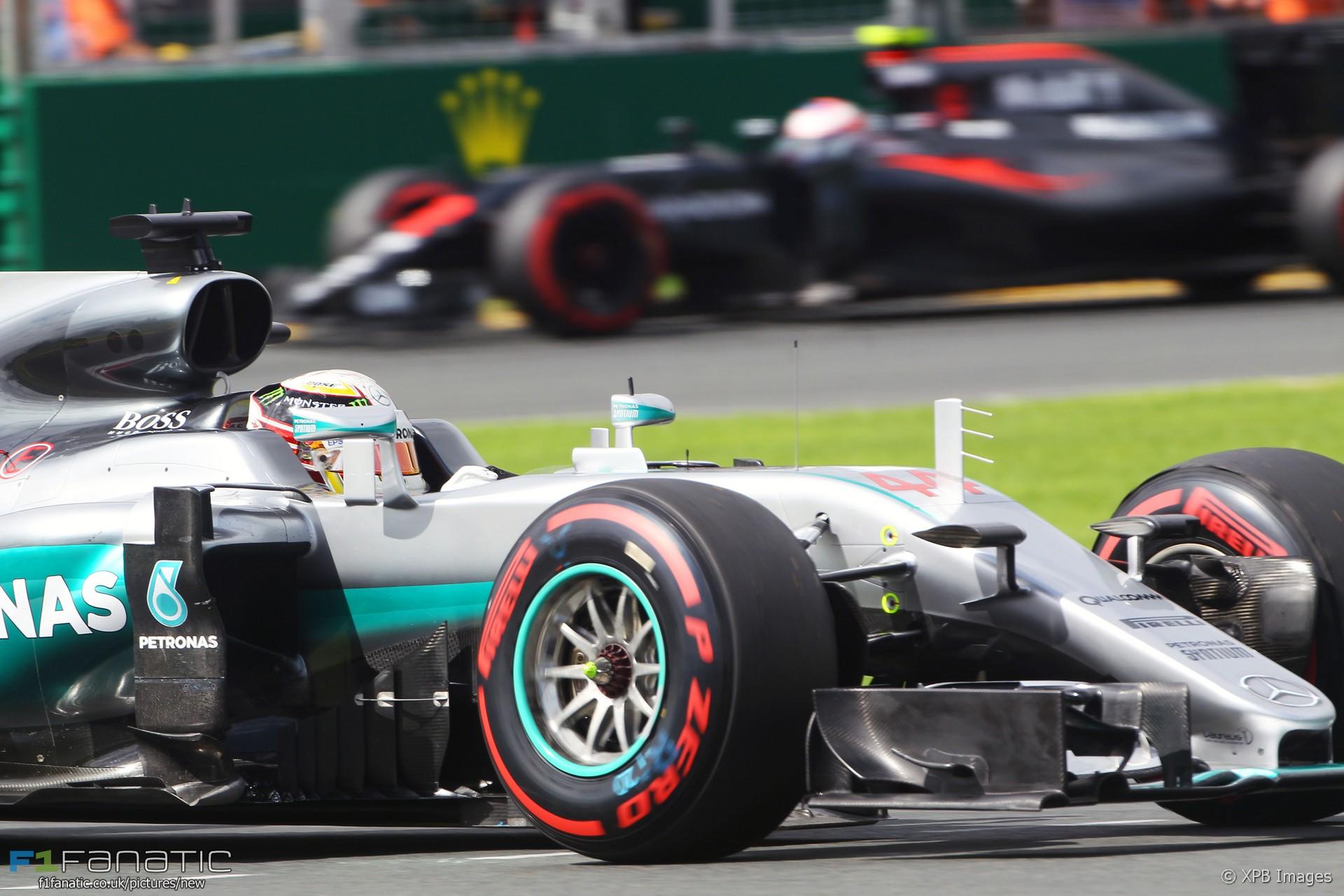 Lewis Hamilton, Mercedes, Albert Park, 2016