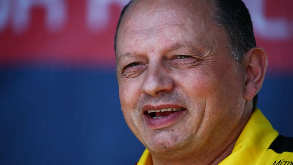Ex-Renault boss Vasseur appointed team principal at Sauber