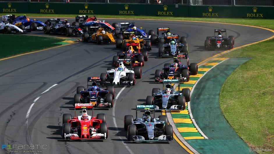 2016 Australian Grand Prix lap times and fastest laps