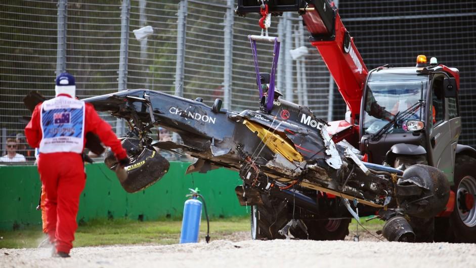 Fernando Alonso, McLaren, Albert Park, 2016