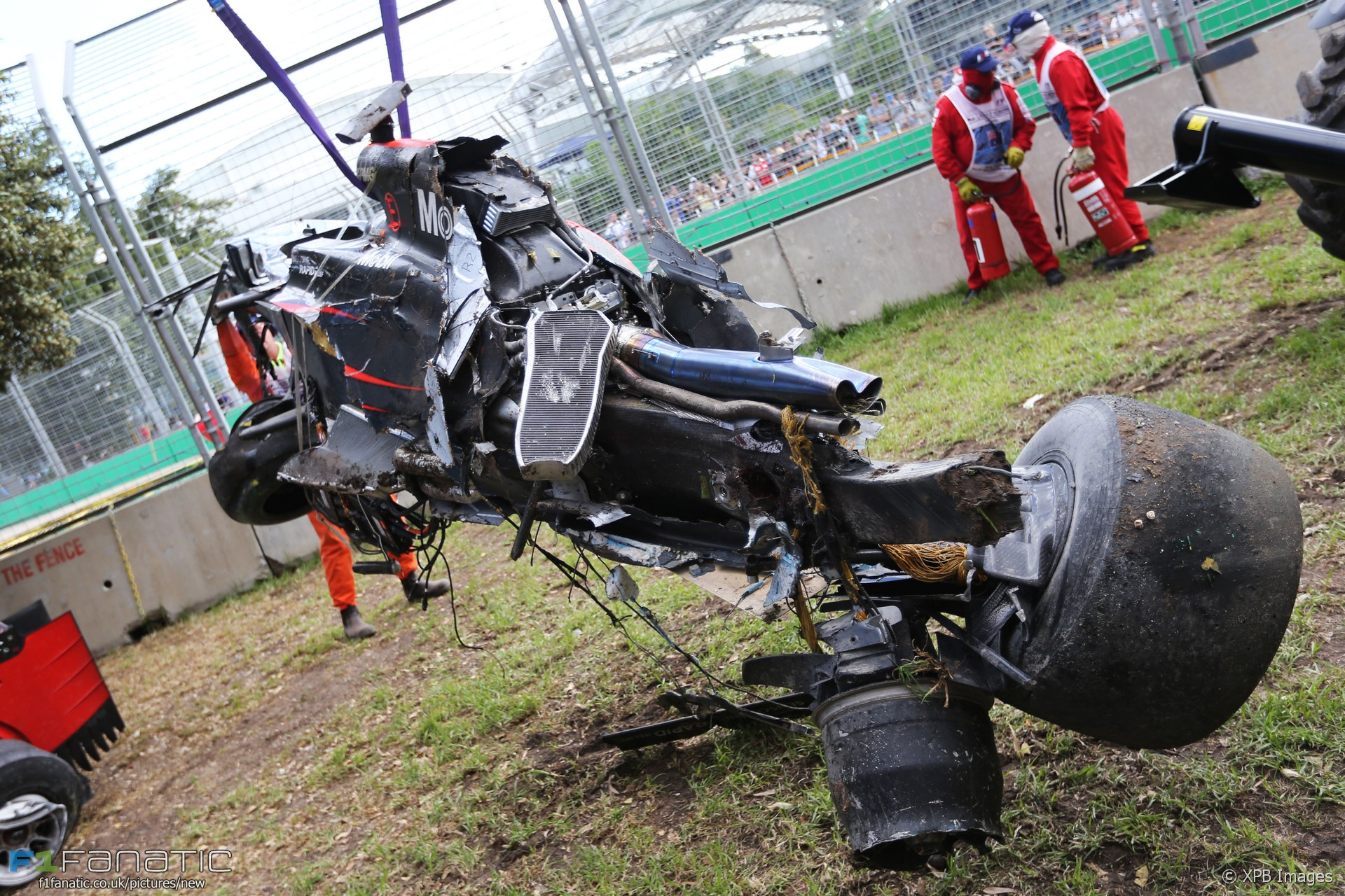 Alonso Takes New Power Unit After Crash 183 F1 Fanatic