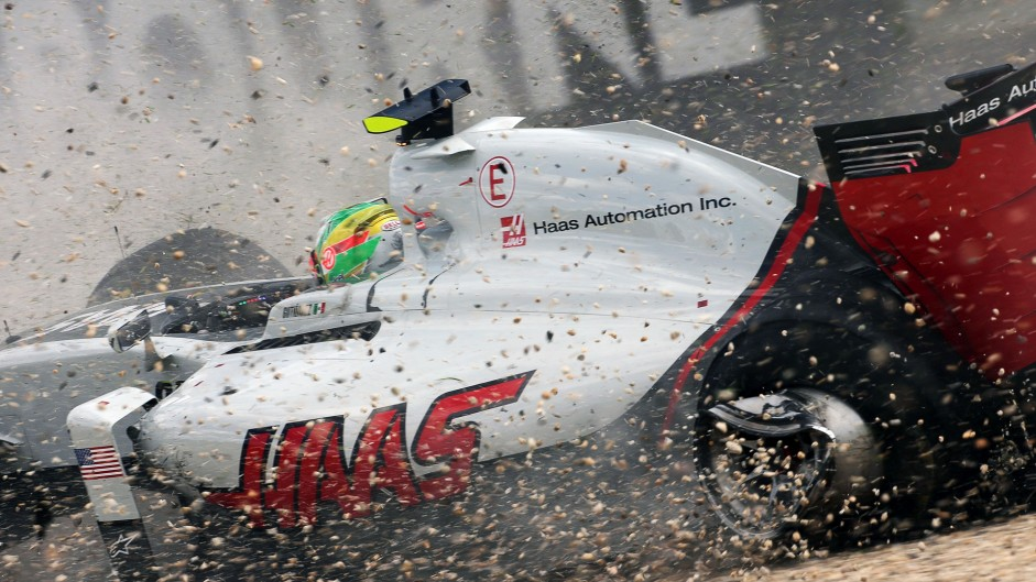 New chassis for Gutierrez after crash