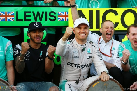 Lewis Hamilton, Nico Rosberg, Mercedes, Albert Park, 2016