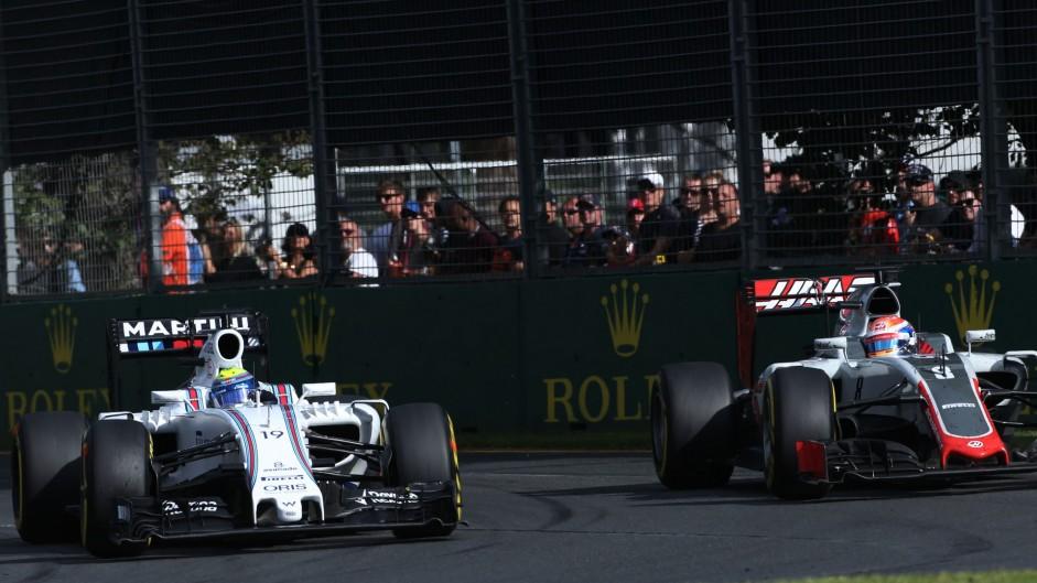 Felipe Massa, Williams, Albert Park, 2016