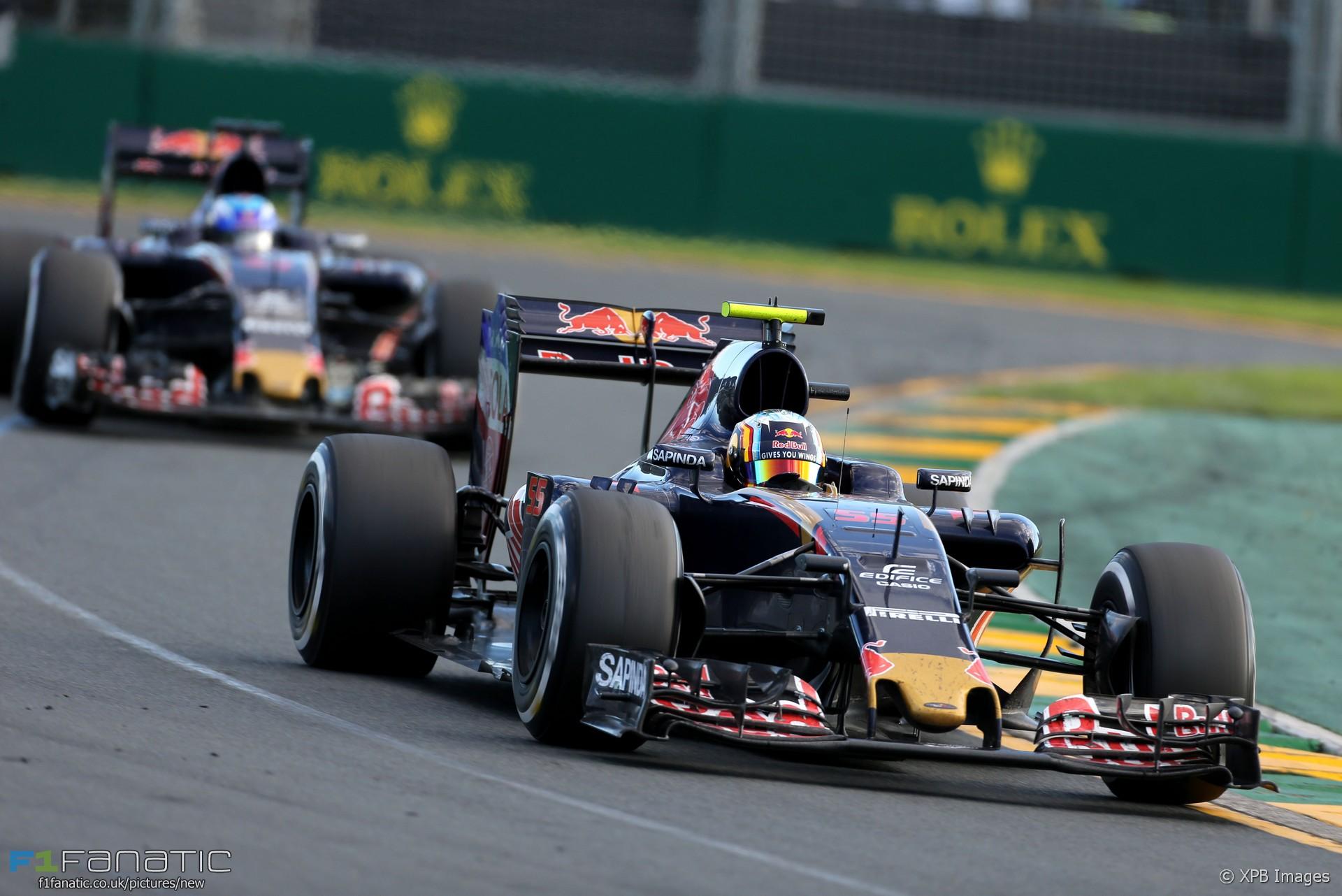 Carlos Sainz Jnr, Toro Rosso, Albert Park, 2016