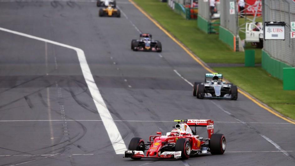 Kimi Raikkonen, Ferrari, Albert Park, 2016
