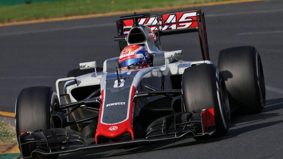 """Haas: Grosjean """"drove his heart out"""""""
