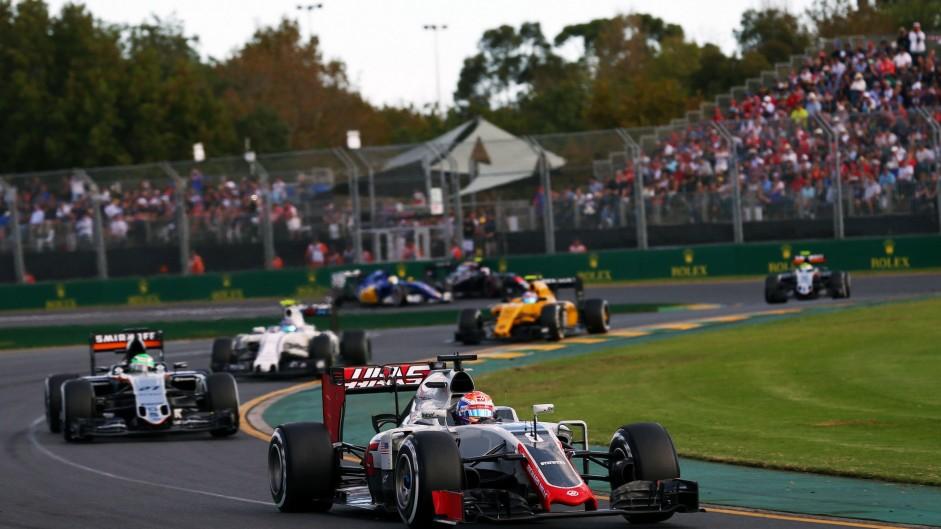 2016 Australian Grand Prix lap charts