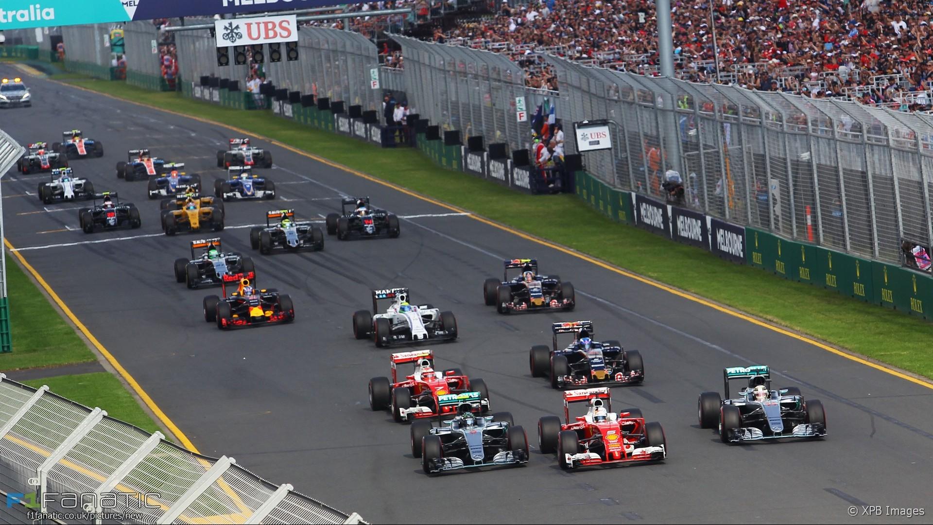 F1 2018 australia wallpaper