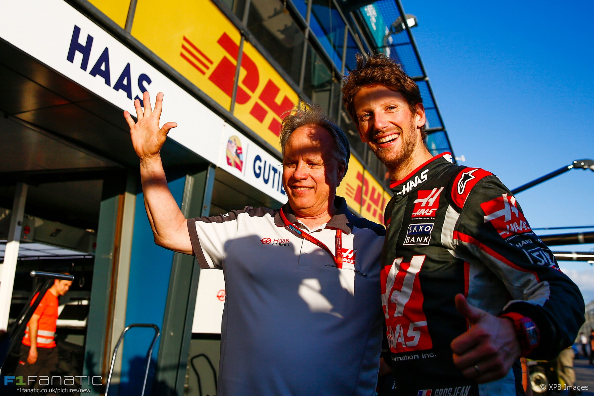 Gene Haas, Romain Grosjean, Albert Park, 2016