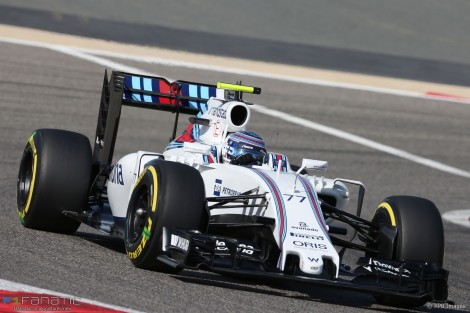 Valtteri Bottas, Williams, Bahrain International Circuit, 2016