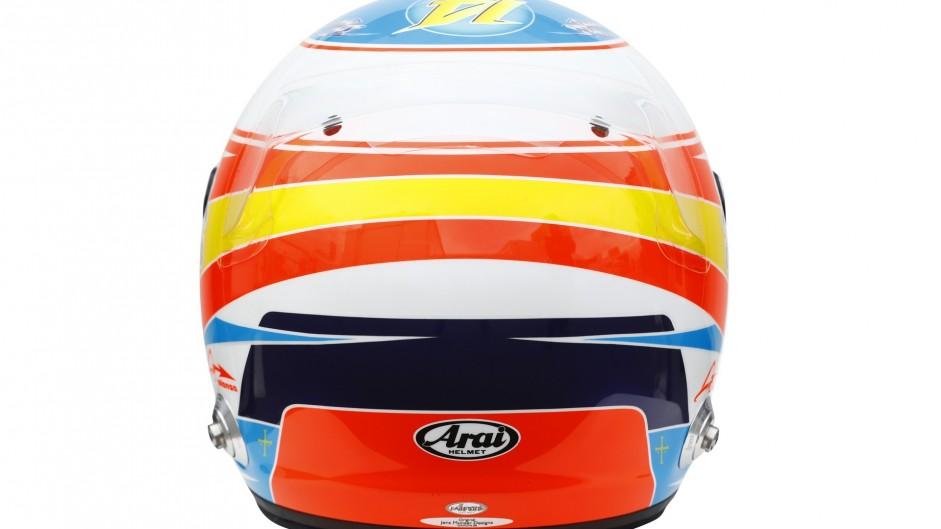 Fernando Alonso helmet, 2016