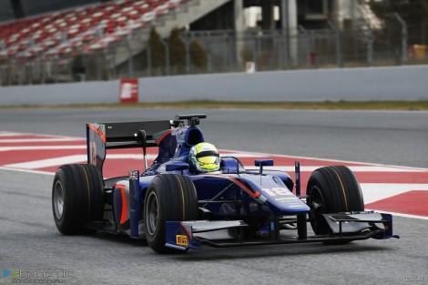 Will Buller, Carlin, Circuit de Catalunya, GP2, 2016