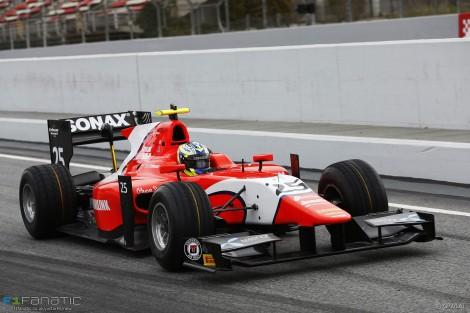 Jimmy Eriksson, Arden, Circuit de Catalunya, GP2, 2016