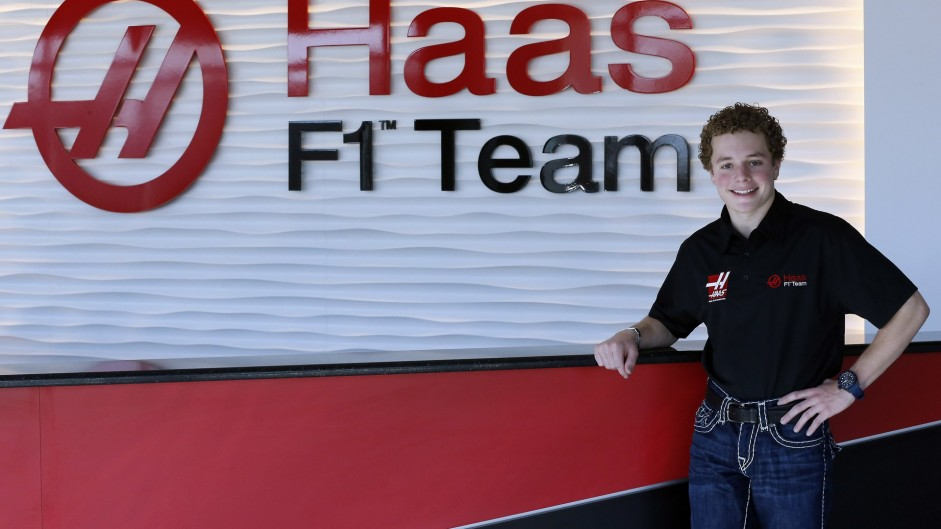Haas appoints American development driver