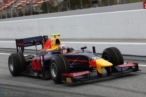 Pierre Gasly, Prema, Circuit de Catalunya, GP2, 2016