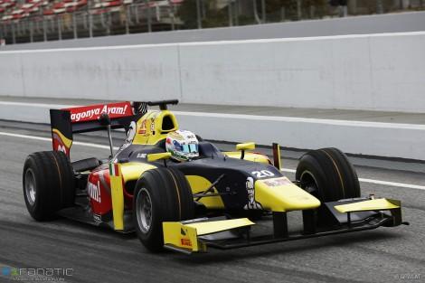 Antonio Giovinazzi, Prema, Circuit de Catalunya, GP2, 2016