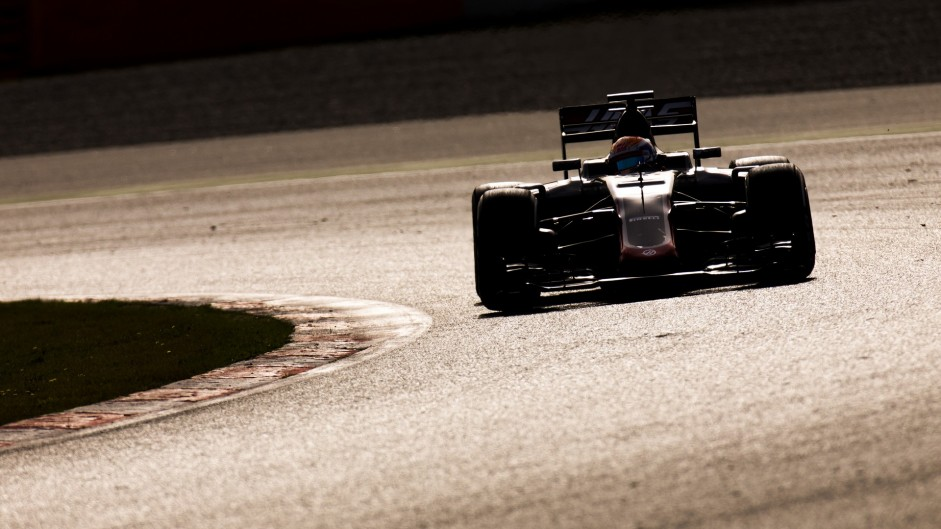 Romain Grosjean, Haas, Circuit de Catalunya, 2016