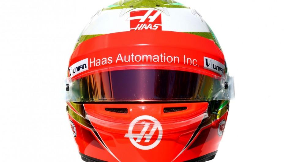 Esteban Gutierrez helmet, 2016