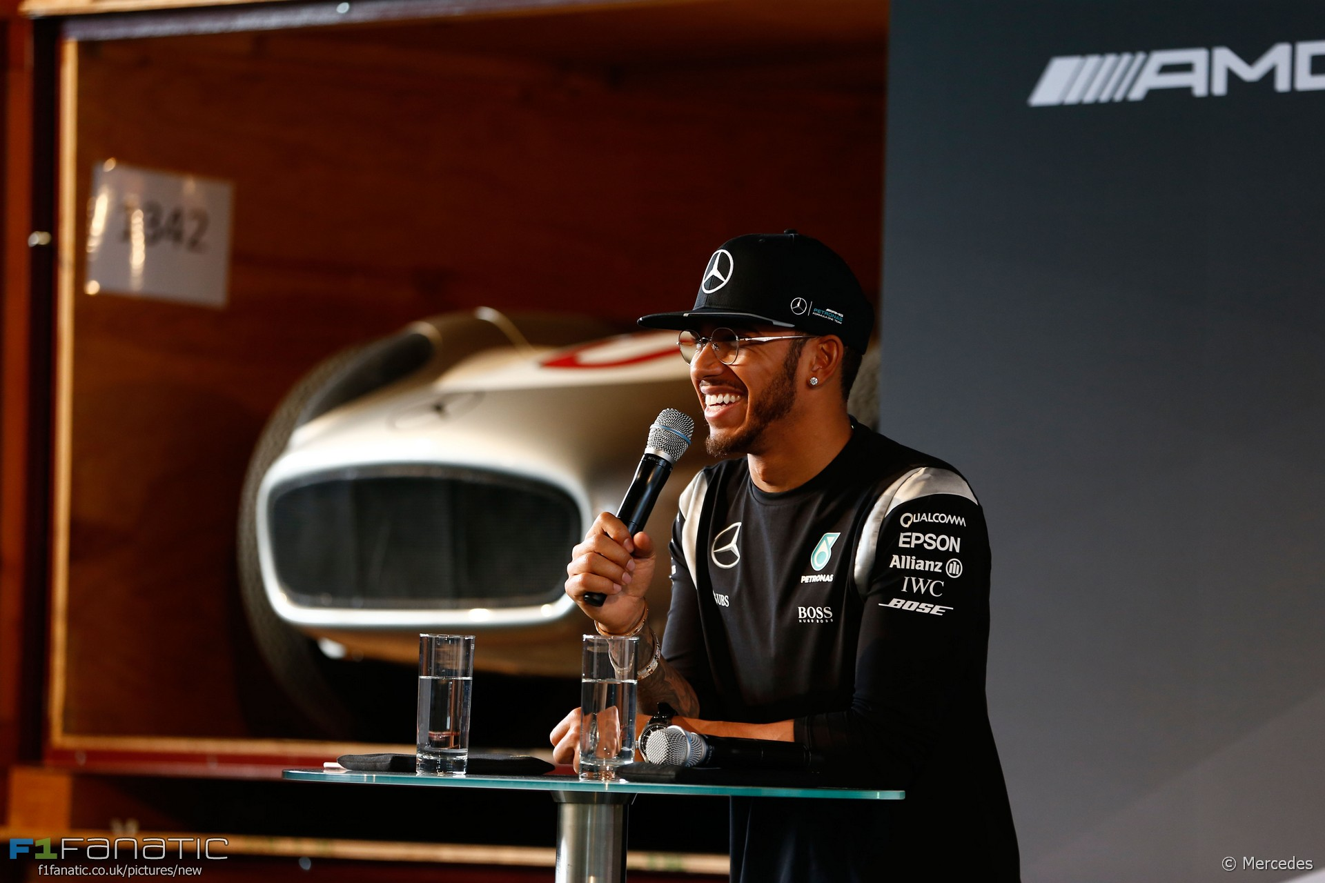 Lewis Hamilton, Mercedes, 2016