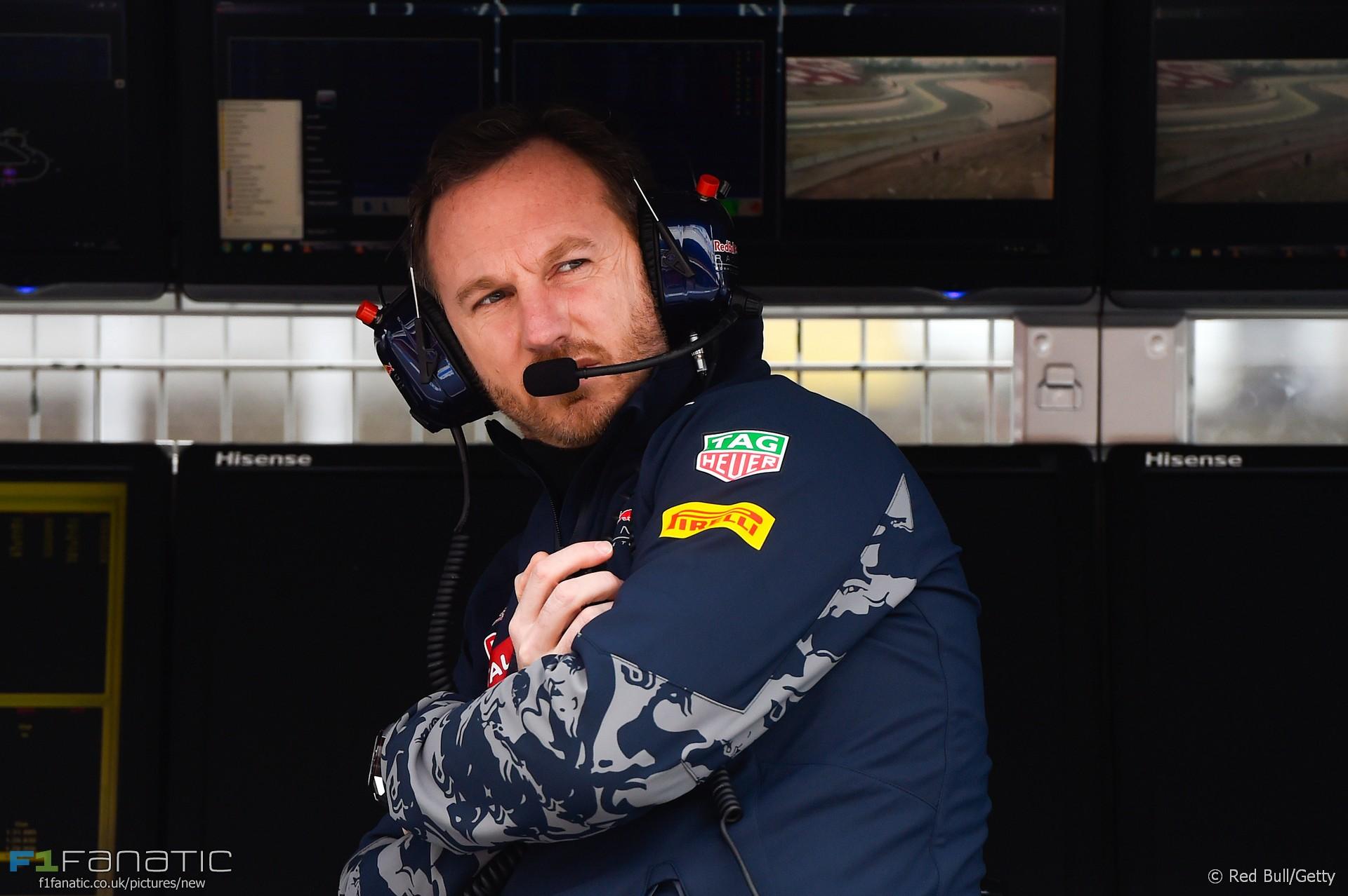 Christian Horner, Red Bull, Circuit de Catalunya, 2016