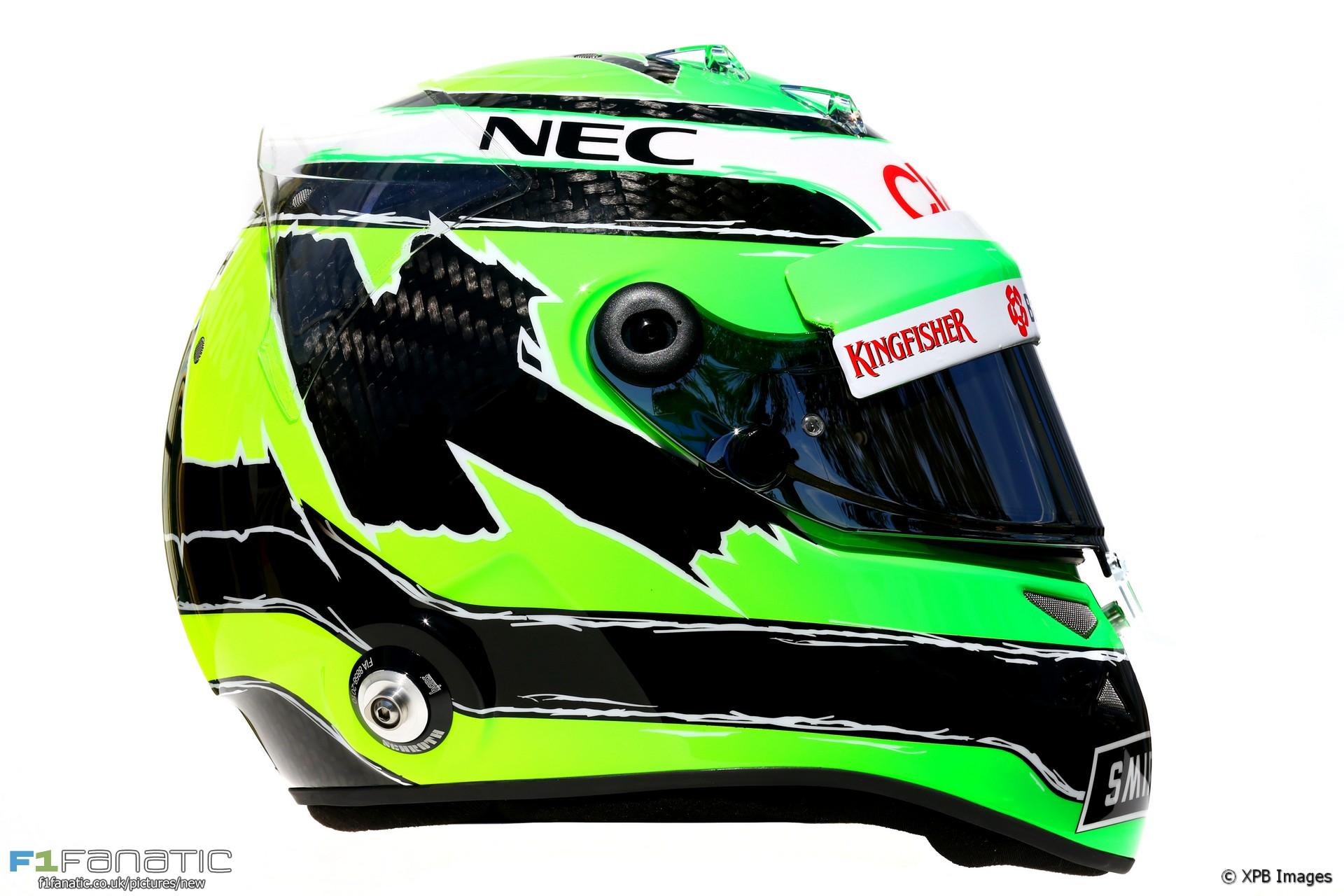 Nico Hulkenberg helmet, 2016