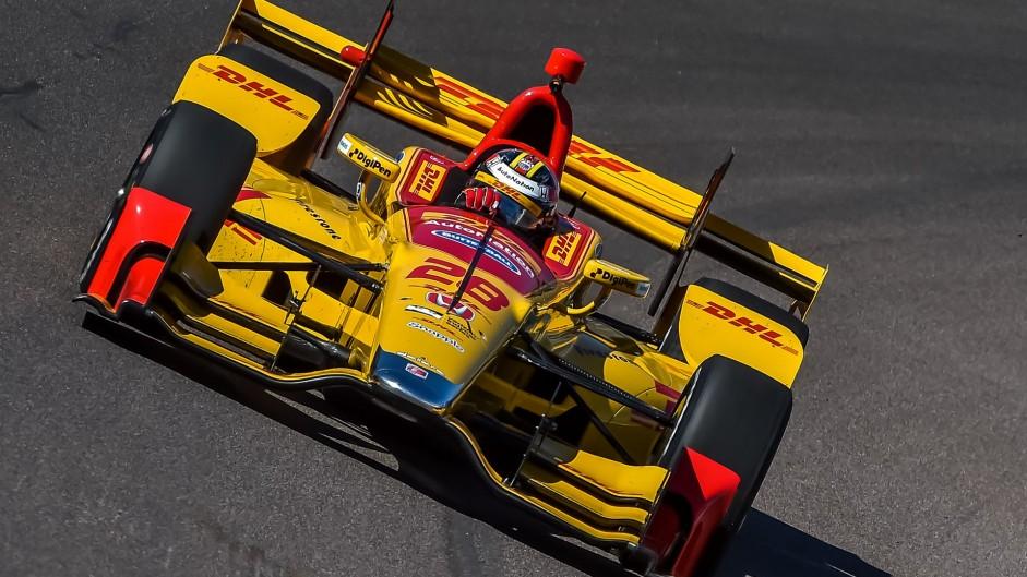 Ryan Hunter-Reay, Andretti, IndyCar, Phoenix, 2016