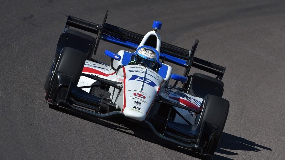 Luca Filippi, Dale Coyne, IndyCar, Phoenix, 2016