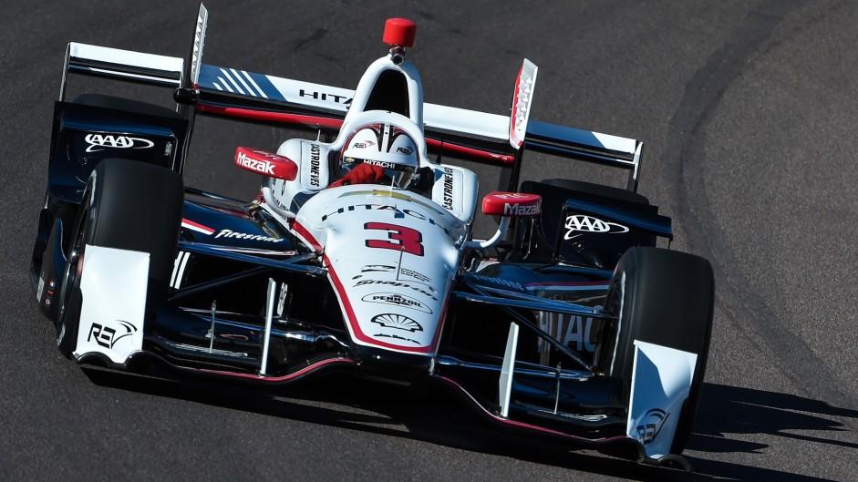 Helio Castroneves, Penske, IndyCar, Phoenix, 2016