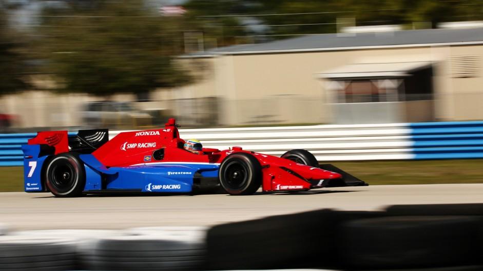 Mikhail Aleshin, Schmidt Peterson, IndyCar, Sebring, 2016