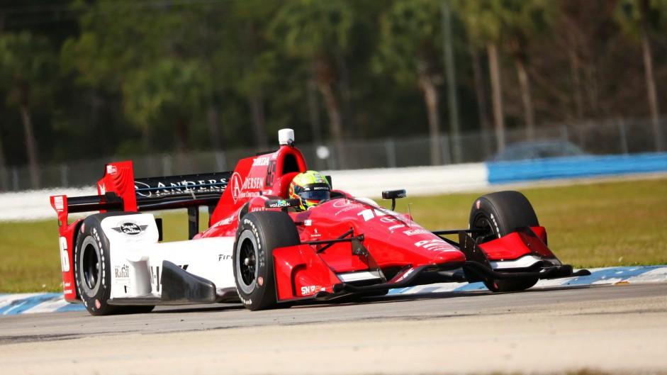 Spencer Pigot, RLL, IndyCar, Sebring, 2016