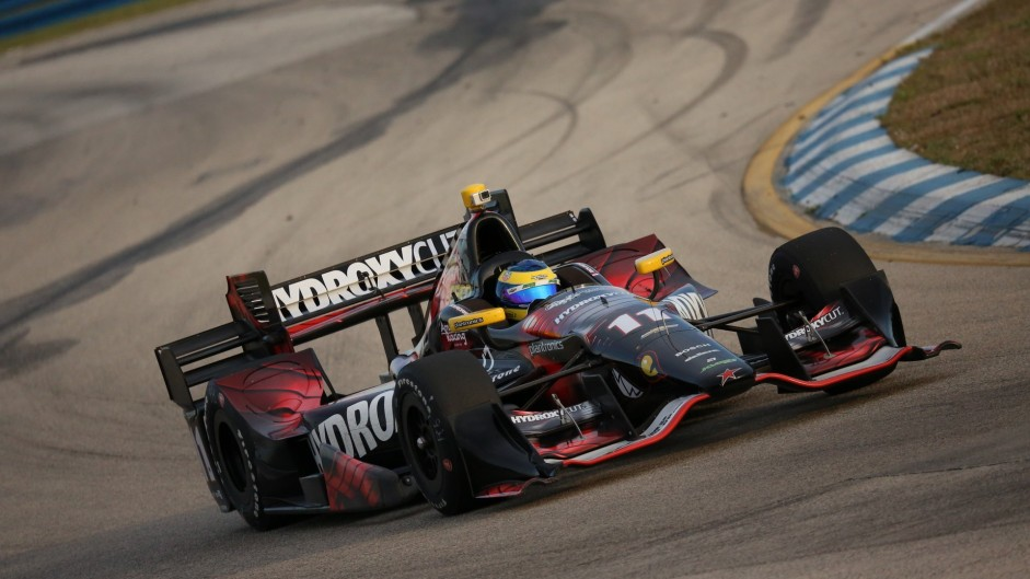 Sebastien Bourdais, KVSH, IndyCar, Sebring, 2016