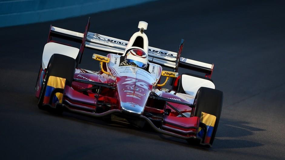 Carlos Munoz, Andretti, IndyCar, Phoenix, 2016