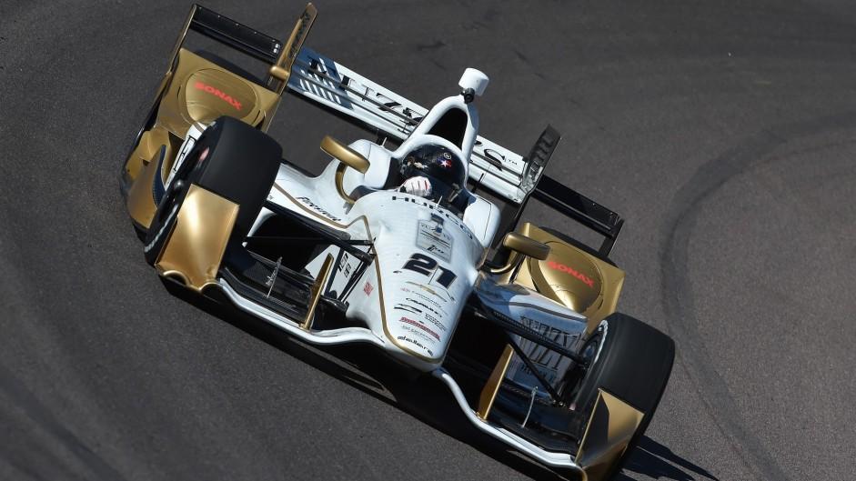 Josef Newgarden, Carpenter, IndyCar, Phoenix, 2016