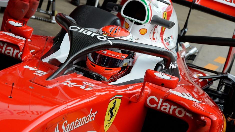 Kimi Raikkonen, Ferrari, Circuit de Catalunya, 2016