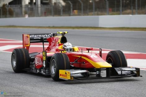Jordan King, Racing Engineering, Circuit de Catalunya, GP2, 2016