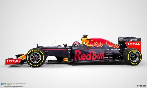 Red Bull Aston Martin branding, 2016
