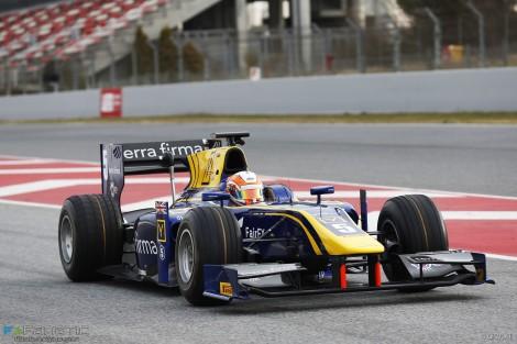 Alex Lynn, DAMS, Circuit de Catalunya, GP2, 2016